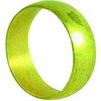 Wickes Compression Olive Ring - 28mm Pack of 2