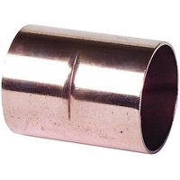 Wickes End Feed Straight Coupler 15mm Pack 10