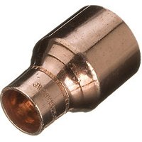 Wickes End Feed Reducing Coupler 22 x 28mm Pack 2