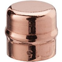 Wickes Solder Ring End Cap 15mm Pack 2
