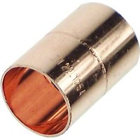 Wickes End Feed Straight Coupler 15mm Pack 50