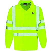 Dickies High Visibility Lightweight Jacket Yellow Large