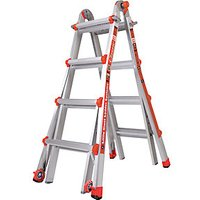 Tb Davies Little Giant 4 Tread Classic Model 17 Aluminium Stepladder