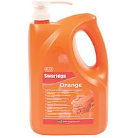 Swarfega Orange Pump Bottle 4 L