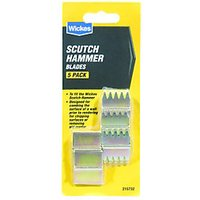 Wickes Blades for Scutch Hammer Pack 5