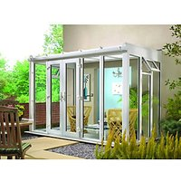 Wickes Traditional Conservatory T5 Full Height White 3130 x 1860mm