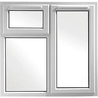 Wickes Upvc A Rated Casement Window White 1190 x 1160mm Rh Side Hung & Top Hung