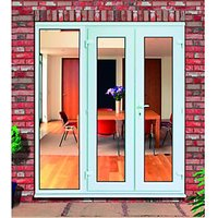 Wickes Upvc French Doors 6ft with 1 Side Panel 600mm