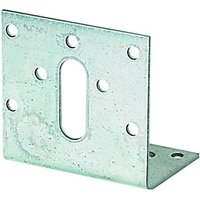 Wickes Galvansied Angle Bracket 100x60x60mm