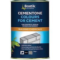 Click to view product details and reviews for Bostik Cementone Cement Mortar Dye Black 1kg.