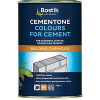 Click to view product details and reviews for Bostik Cementone Cement Mortar Dye Buff 1kg.