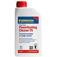Fernox F5 Central Heating Powerflushing Cleaner   1L