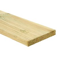 Wickes PSE Redwood Treated Timber - 20.5 x 144 x 1800mm