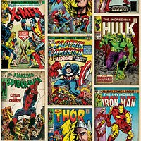 Graham & Brown Marvel Action Heroes Decorative Wallpaper Multi - 10m