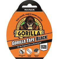 Click to view product details and reviews for Gorilla All Purpose Tape 11m Black.