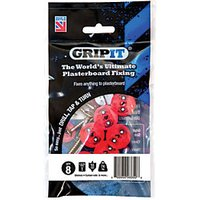 GripIt 18mm Plasterboard Fixing 5 x 30mm Pack of 8