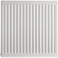 Type 11 Single Panel Compact Radiator - White 600 x 600 mm