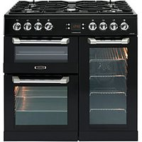 Leisure Cuisinemaster 90cm Dual Fuel Range Cooker - Black