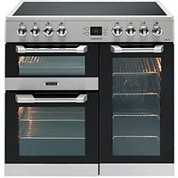 Leisure Cuisinemaster 90cm Electric Range Cooker - Stainless Steel