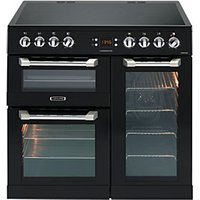 Leisure 90cm Cuisinemaster Electric Cooker Black