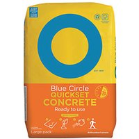 Click to view product details and reviews for Blue Circle Quick Set Concrete 20kg.