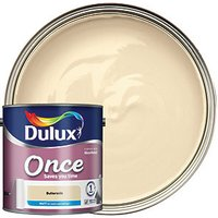 Dulux Once Matt Emulsion Paint - Buttermilk 2.5L
