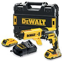 DeWalt DCF620D2 18V Xr Li-ion Brushless Collated Drywall Screwdriver 2 x 2.0AH  Charger and Kit Box
