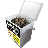Reisser Countersunk Pozi Cutter Yellow Wood Screws - 5 x 60mm Inc Free Pozi 2 Bit