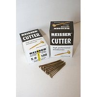 Reisser Countersunk Pozi Cutter Yellow Wood Screws - 4 x 30mm CP Pack of 200