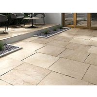 Marshalls Indian Sandstone 600 x 600mm Single - Buff Multi