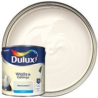Dulux Matt Emulsion Paint - Fine Cream 2.5L