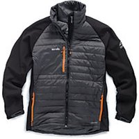 Scruffs Expedition Black Double Zip Jacket - L