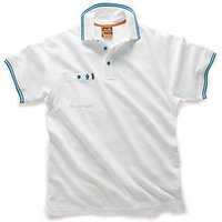 Scruffs Worker Polo White L