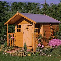 Shire Cubby Playhouse - 6 x 4 ft