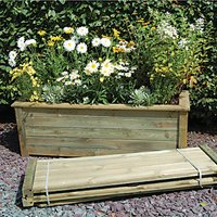 Forest Garden Bamburgh Planter Kit - 500mm x 1.5m