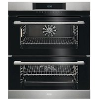 AEG Surround Cook Double Multifunction Stainless Steel Electric Oven DUK731110M