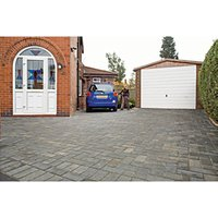 Marshalls Driveline 50 Textured Pewter 200 x 100 x 50mm Block Paving - Pack of 488