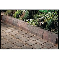 Marshalls Driveline 4 in 1 Textured Kerb Stone - Brindle 100 x 100 x 200mm Pack of 240