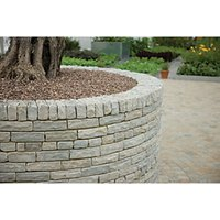 Marshalls Natural Stone Textured Silver Birch 300x100x65 Pitched Walling 5m2