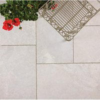 Marshalls Lazaro Marble Smooth Shell Paving Patio Pack - 12.32 m2