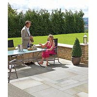 Marshalls Fairstone Sawn Versuro Smooth Antique Silver 845 x 140 x 22mm Linear Paving Slab - Pack of 100