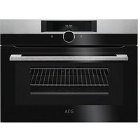 AEG CombiQuick 1000W Microwave & Compact Oven KMK861000M