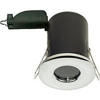 Luceco Fire Rated Polished Chrome Downlight - GU10