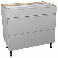 Wickes Madison Grey Drawer Unit Part 1 of 2 900mm