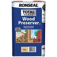 Ronseal Total Wood Preserver Clear 5L