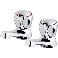Wickes Trade Basin Taps - Chrome