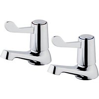 Wickes Medino Basin Taps - Chrome