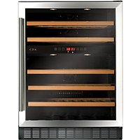 CDA 600mm Stainless Steel Wine Cooler FWC603SS