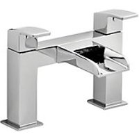 Wickes Waterfall Bath Mixer Tap - Chrome