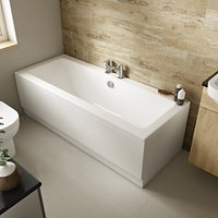Wickes Camisa Double Ended Bath - 1700 x 700mm